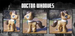 My Little Pony Doctor Whooves Blind Bag Custom by kaizerin