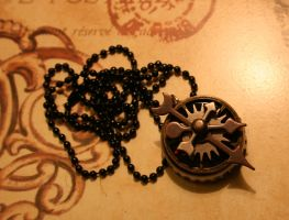 Arrows and Gears Token by turnerstokens