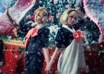 Kagamine Twin - Will Santa Come? by vaxzone