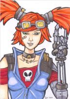 Gaige ACEO 01 color by JusticeDude
