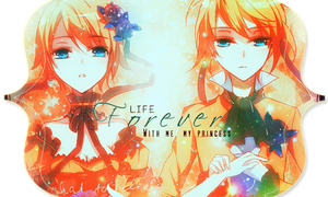 Firma- Life forever with me, My princess by galaica