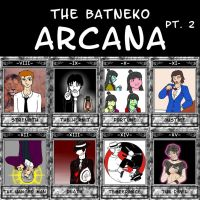 The Tarot of Batneko pt. 2 by ShiningThanatos