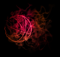 Smokey Basketball by HelenLight