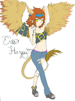 Eris the griffin- harpy? by Delliria-Gruesome
