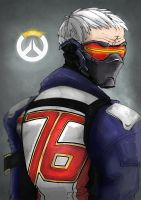 Soldier 76 by HannaS2