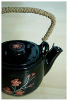 Ceramic teapot by paaatricia