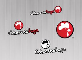 Logo Churrastuga by felipelessa