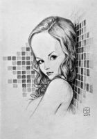 Potrait of a Young  Woman #5 by sycen