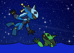 Missile Diver and Screw Diver by xelaalex