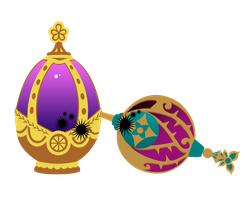 Soul gem and Grief seed version 2 by Kureeru