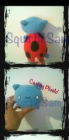 Catbug Plush by SquirtleSam