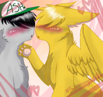 Gay boi kisses by thecatseyefire