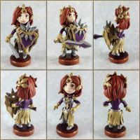 Leona Sculpture-Alternate Views by LeiliaClay