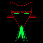 Gehenna Cat Party Small by wetdryvac