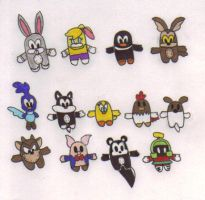 Looney Tune Pook-a-Looz by KessieLou