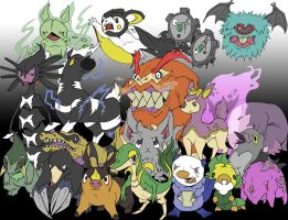 Isshu Region Pokemon