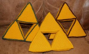 Triforce Pillow by CreativeExcess