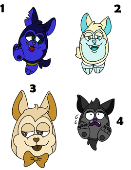 Tattletail Adopts 3 (OPEN) by Electrical--Rodent