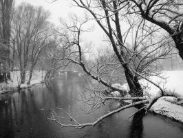 Winter River VI by Helenas-sweetheart