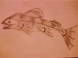 The Leaping Fish by Akhrrana