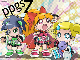 powerpuff kids Z by BiPinkBunny