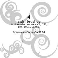 Swirl Brushes by erraticstudios