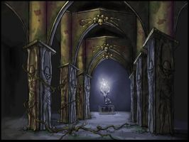 The Ancient Crypt by johnblunt