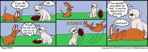Furballed Comics: The Oldest Trick In The Book by twiggy-trace