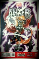 Sketch Cover (Lady Thor) by animaddict