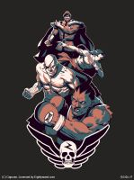 Shadaloo shirt by MihaiRadu