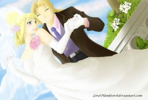 EdxWinry - Wedding Day final by Lord-Plankton