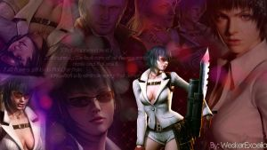 Devil May Cry Lady Wallpaper by AlbertXExcellaLover