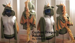 Custom Dragon Hoodie by SethImmortal