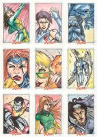 Xmen Archives Sketchcards 5 by Csyeung