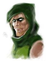Green Arrow by christeeeny