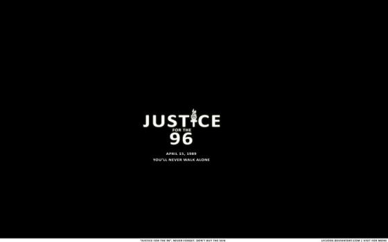 Justice for the 96. by lfcjosh