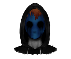 Eyeless Jack portrait by HIDDEN-being