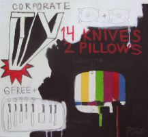 14 knives 2 pillows by the-Px-corporation
