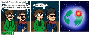EWCOMIC85 - Fireworks by eddsworld