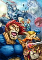 Thundercats Attack by RecklessHero