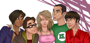 The Big Bang Theory by Itabia