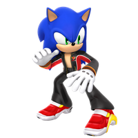 Sonic in Jacky Bryant Outfit by Nibroc-Rock