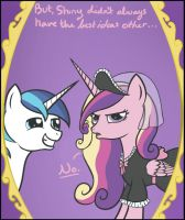 Cadance is not Amused by iRaincloud