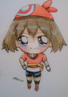 Fan Art: May Pokemon Chibi by PieChan34-Creations