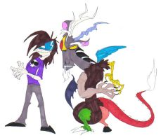 Me and Discord by SpiketheKlown