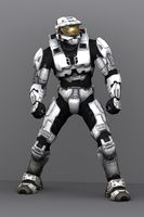 Halo 3 Spartan by Keablr