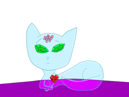 Oz- Bungles the Glass Cat by Roses-and-Feathers