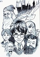 Harry Potter DVD Cover - Philosopher's Stone by fluffy-fuzzy-ears