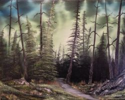 Mystic Pines by FrankLoria
