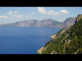 Crater Lake by Jshei